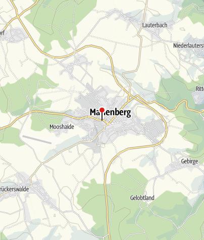Karte / Marienberg, Poststr