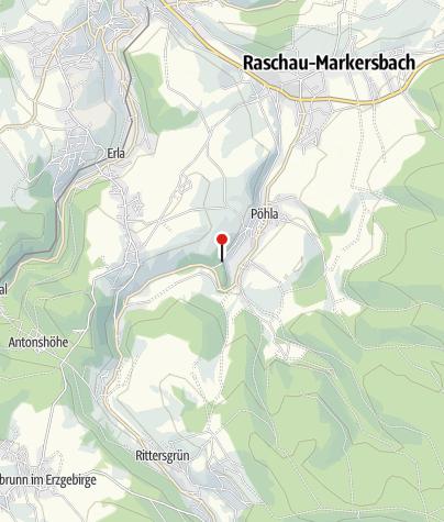 Karte / Pöhla, Paul-Schneider-Str EH