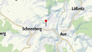 Karte / Bad Schlema, Zentrum
