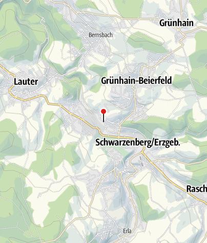Karte / Schwarzenberg, Clara-Zetkin-Str
