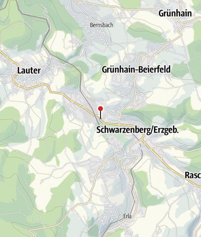 Karte / Schwarzenberg, Sachsenfeld