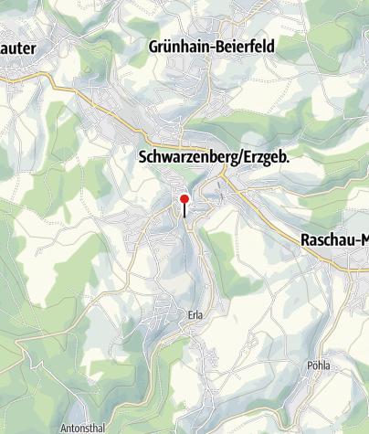 Karte / Schwarzenberg, Stadtschule