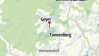 Karte / Tannenberg, Siebenhöfen