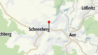 Karte / Bad Schlema, Ärztehaus am Kurpark