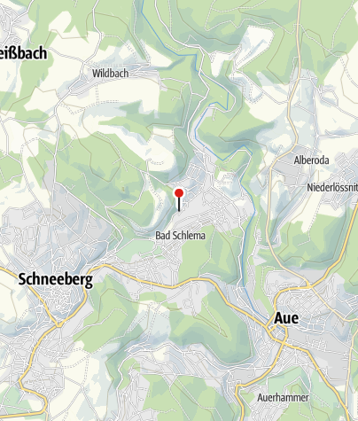 Karte / Bad Schlema, Hauptstr/Lichtloch 12a