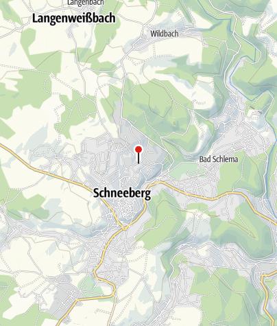 Karte / Schneeberg, Am Krankenhaus