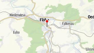 Karte / Flöha, Am Markt