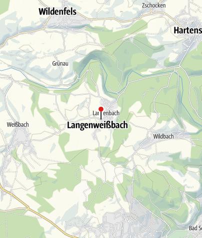 Karte / Langenbach, Wendestelle