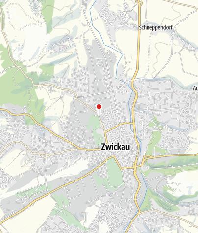 Karte / Zwickau, K-Kollwitz-Gymnasium