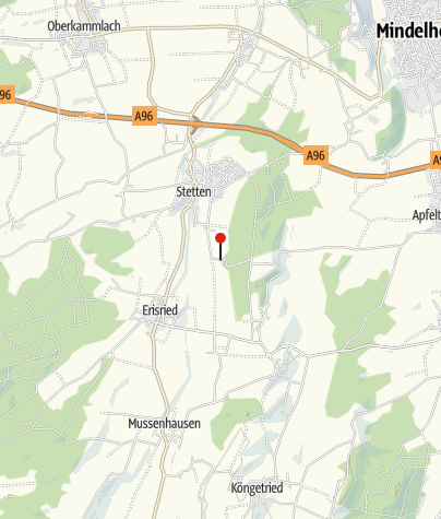 Karte / Franziskus-Kapelle in Stetten