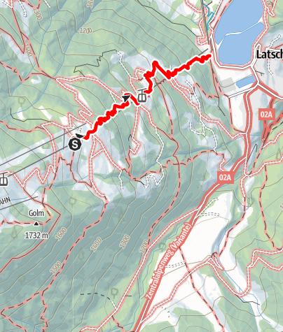 Karte / Waldrutschenpark  Golm