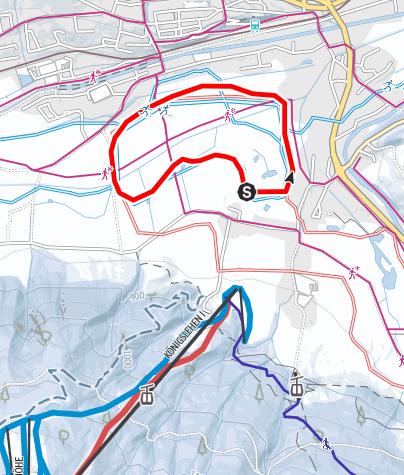 Karte / Ortsloipe Radstadt