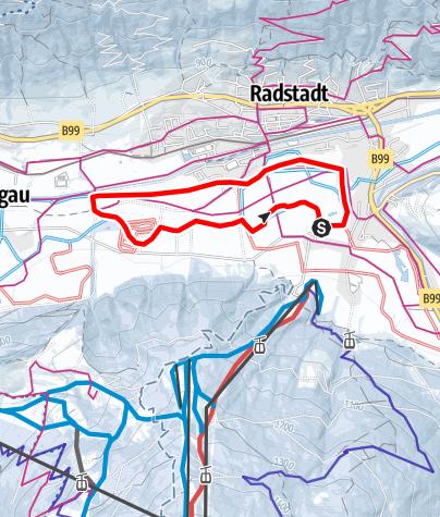 Karte / Ennstal Loipe