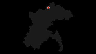 Karte / Alb-Donau-Kreis Radtour 5 - Albrundfahrt von Amstetten durchs Lonetal und über die Kuppenalb