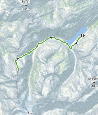 Map / Pizzo Cassinello 3103 m
