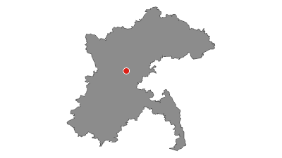 Karte / Alb-Donau-Kreis Radtour 6 - Tälerfahrt rund um Blaubeuren und hoch auf die Alb