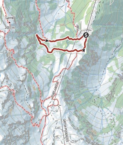 Karte / MounTeens Detektiv-Weg