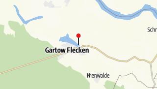 Karte / Segeln / Anlegesteg am Gartower See