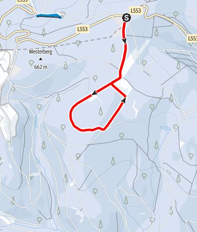 Map / Knülle-Loipe