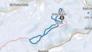 Karte / Kreggenbergschleife