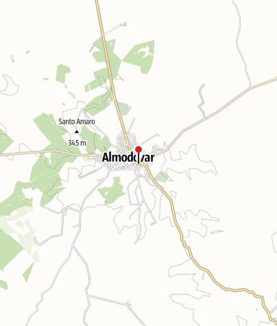 Map / Café | Restaurant Almodôvar