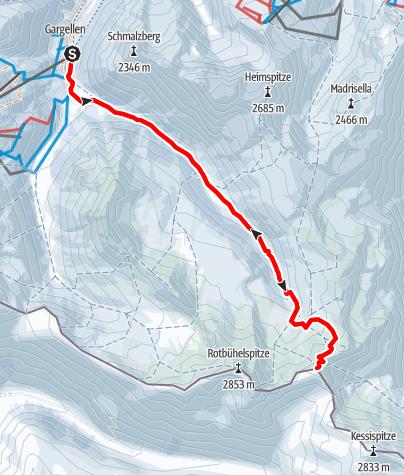 Map / Hinterberg 2.682 m (ganztägig)