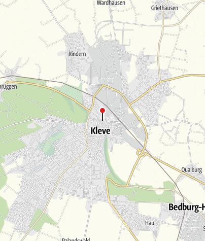 Karte / Knotenpunkt 26 KLE - Kleve KLV