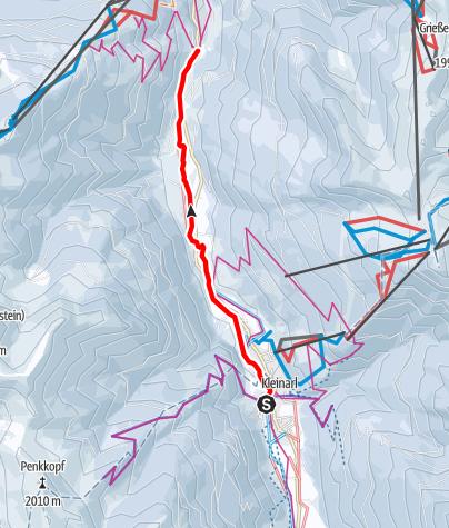 Karte / C - Wagrain-Kleinarl-Loipe