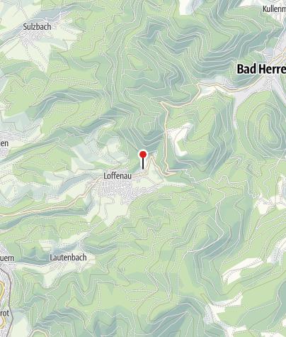 Karte / Sportgaststätte TSV Loffenau