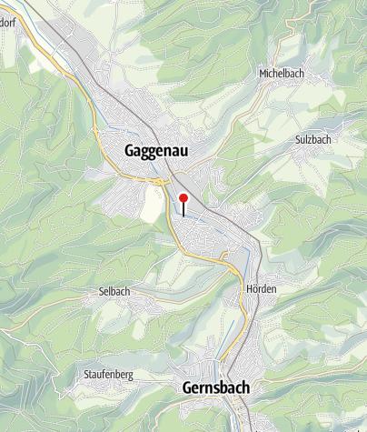 Karte / Sportgaststätte Ottenau