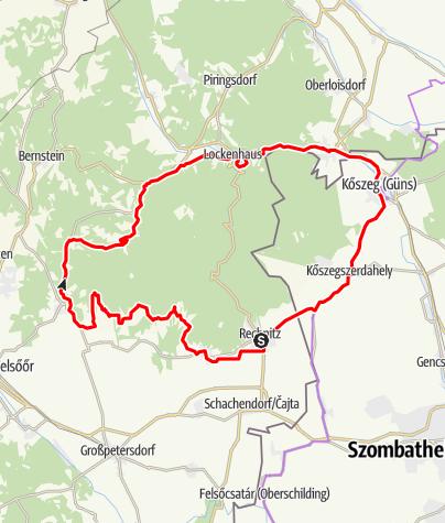 Karte / Geschriebenstein Runde klein