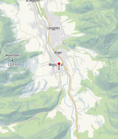 Karte / Gasthof Pfaffensteffl