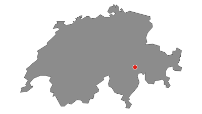 Karte / Tomülpass 2450 m