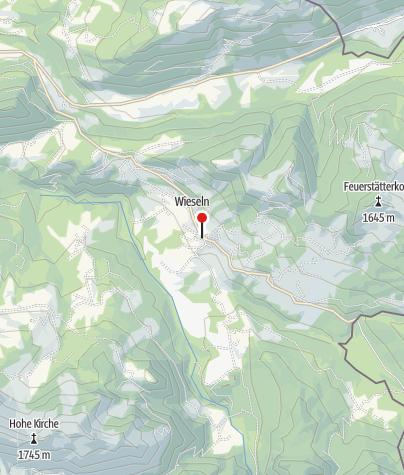 Karte / Gasthof Der Hirschen