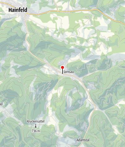 Mapa / Gasthaus zur Brücklmühle