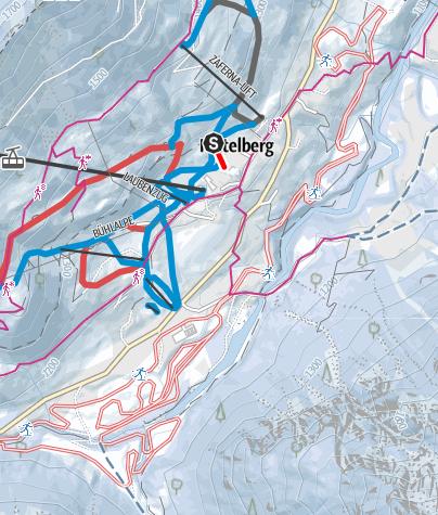 Map / Schützabüal in Mittelberg