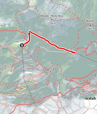 Karte / Leiter Alm - Hochmut