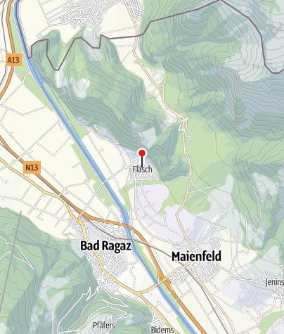 Karte / Jann & Sarah Marugg Weinbau, Fläsch