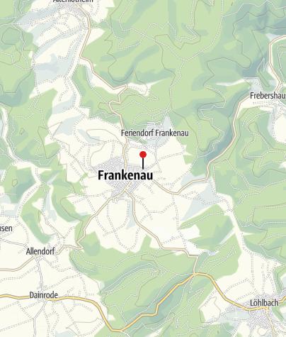 Karte / Start / Ziel / Versorgungsstation 4 Kellerwaldhalle Frankenau 10. & 11.09.2021