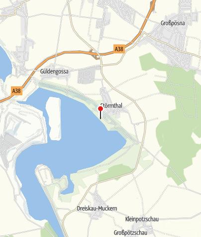 Karte / Störmthal (Störmthaler See)