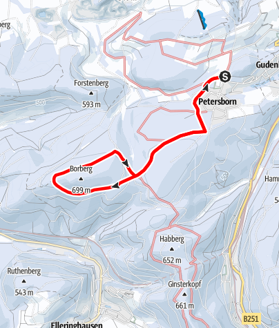 Map / Nordic Aktiv Zentrum Brilon - Borbergloipe
