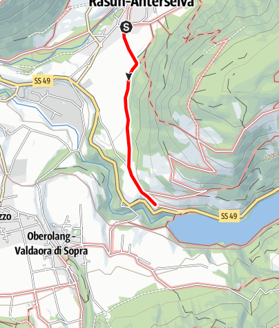 "Map / Winter hike: to the ""Alte Goste"""
