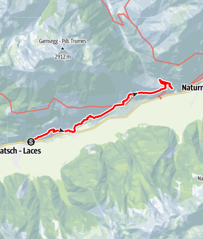 Karte / Sunnenweg