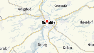 Karte / Hängebrücke Rochlitz