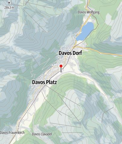 Map / WC Langlaufzentrum Davos