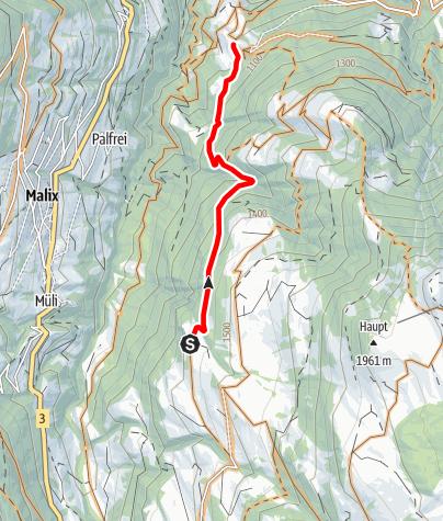 Karte / Fanüllatobel