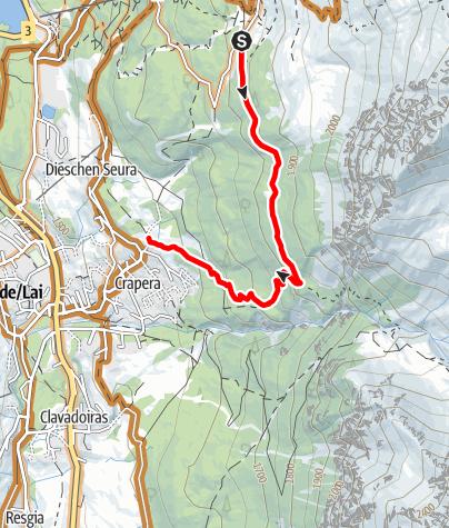 Karte / Wasserfall