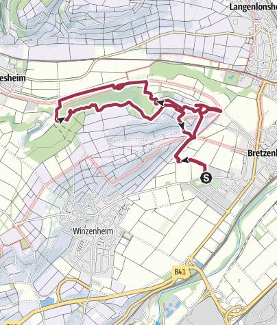 Map / Vitaltour Eremitenpfad