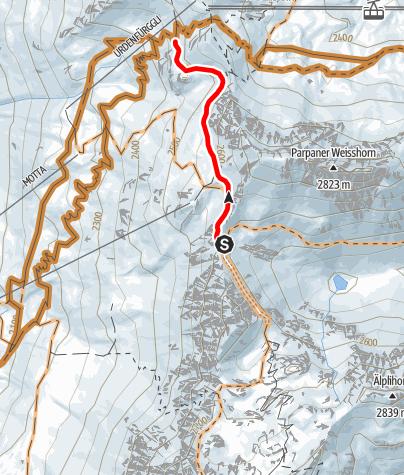 Karte / Urdenfürggli Connection
