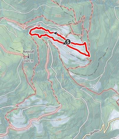 Map / Herbal Trail along the spiluck panoramaweg path